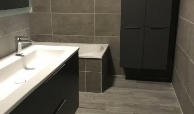 Rénovation clé en main d'une salle de bains et de toilettes à HEYRIEUX