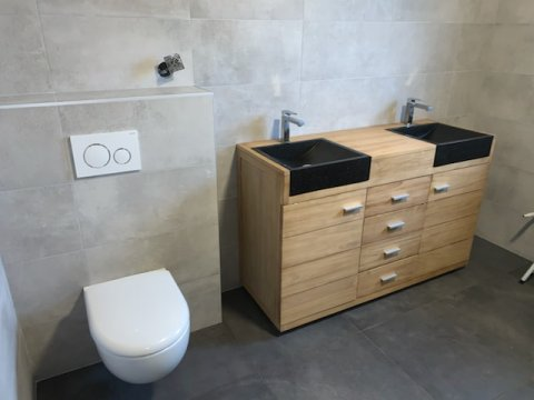 Rénovation clé en main d'une salle de bains à MIONNAY